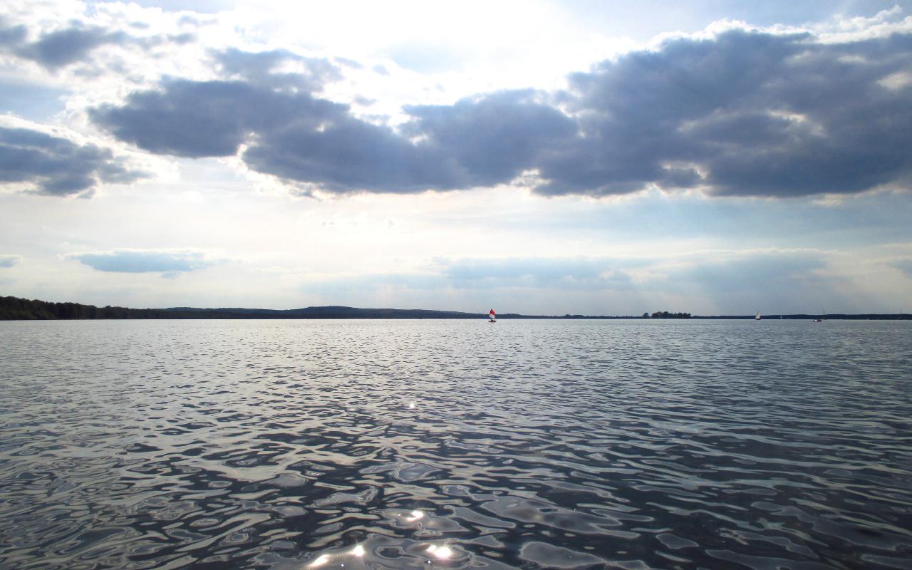 steinhuder meer wolken