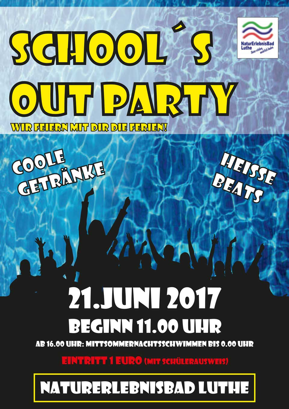 Photo of School's Out Party im Naturerlebnisbad Luthe