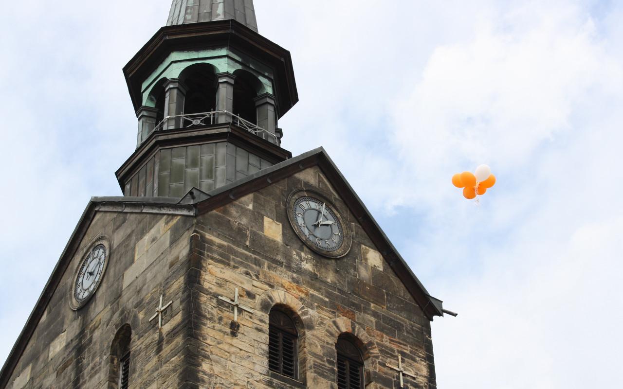 stadtkirche ballons