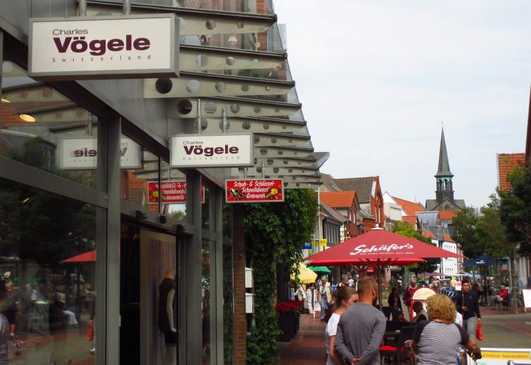 Photo of Wandel in der Wunstorfer Fußgängerzone