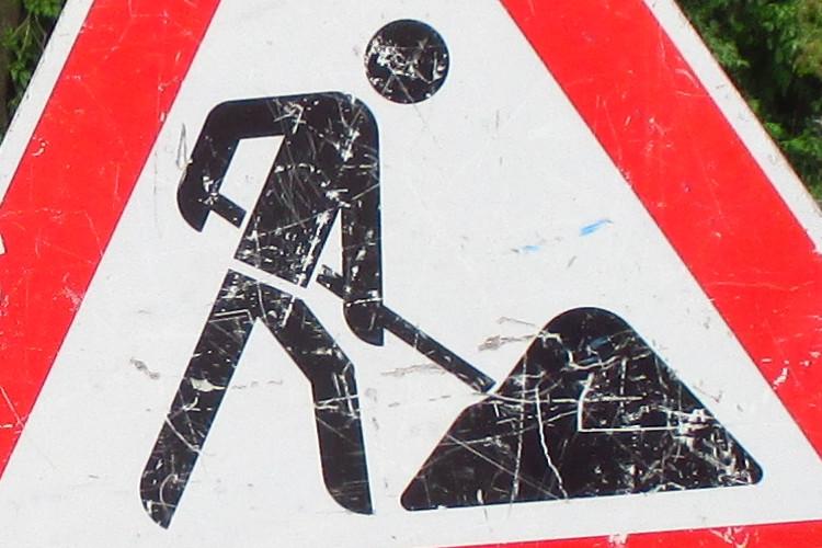 Photo of Beginn der Bauarbeiten am Kreisverkehr Adolf-Oesterheld-Straße/Albert-Einstein-Straße