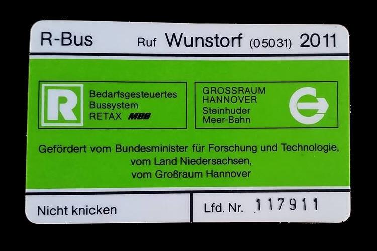 r bus magnetkarte