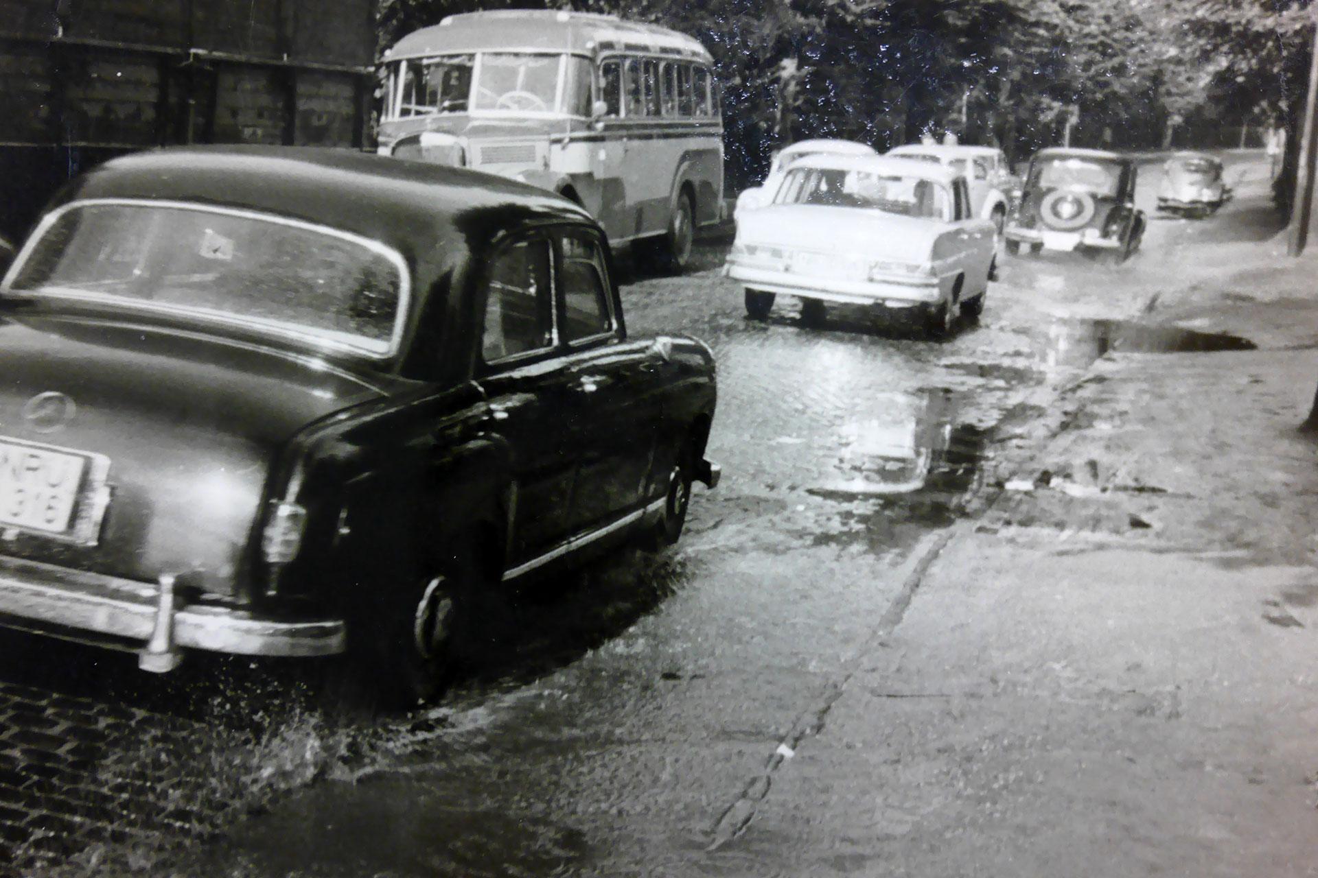 Photo of Pfützen in der Hindenburgstraße