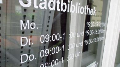 Bild von Stadtbibliothek verschiebt Öffnungszeiten dauerhaft