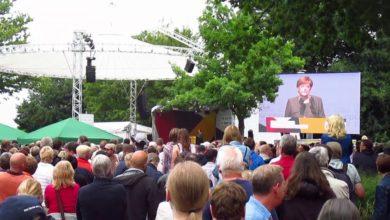 Photo of Angela Merkel in Steinhude
