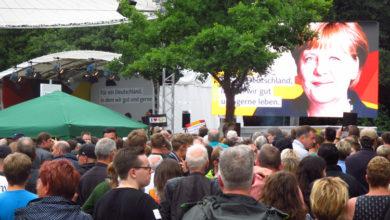 Bild von Bundeskanzlerin Merkel in Steinhude