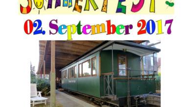 Bild von Sommerfest des Vereins Steinhuder Meer-Bahn