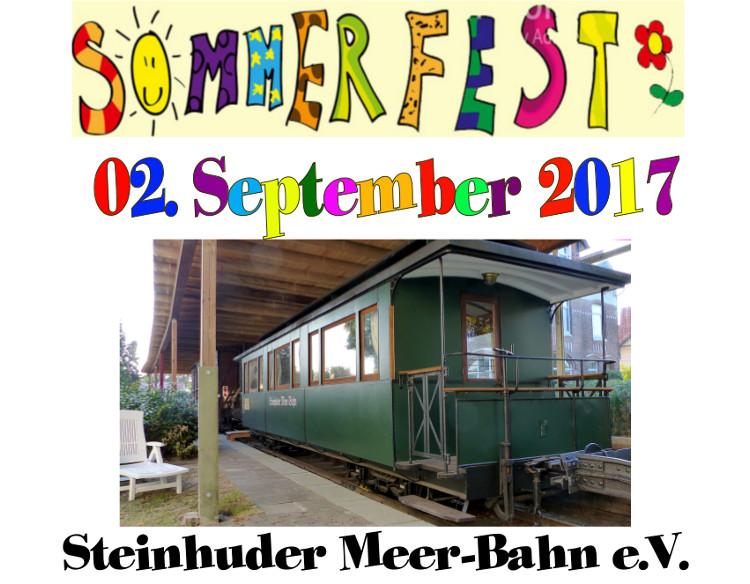 Photo of Sommerfest des Vereins Steinhuder Meer-Bahn