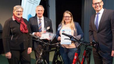 Bild von Stadt Wunstorf als fahrradfreundlichster Arbeitgeber ausgezeichnet
