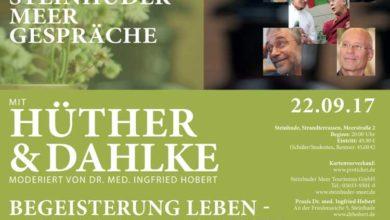 Bild von Gerald Hüther und Ruediger Dahlke in Steinhude