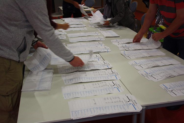 stimmzettelsortierung