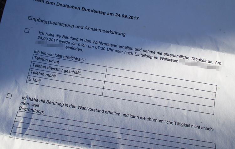 Photo of Hilfe, ich werde Wahlhelfer – Teil 1