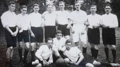 Bild von Rustikales Schuhwerk beim Fußballclub von 1919 Wunstorf
