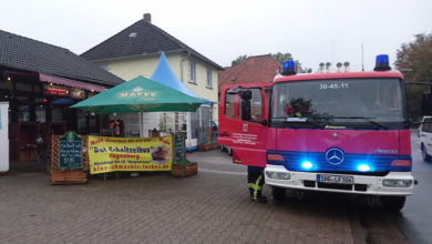 Photo of Restaurantküchenbrand in Hagenburg