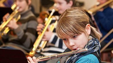 Bild von Instrumentenvorstellung in der Musikschule