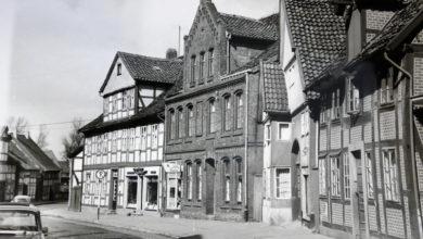 Bild von Fachwerk und Giebel in der Nordstraße