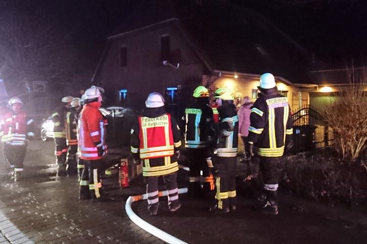 Photo of Großeinsatz der Feuerwehren in Hagenburg