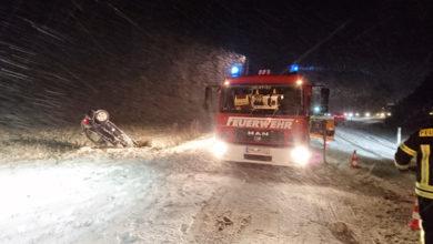 Bild von Schwere Unfälle nach Schneefällen