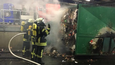 Photo of Feuer beim Supermarkt