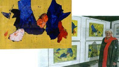 Bild von Wunstorferin Sieglind Ursula Kolter erhält Kunstpreis der Stadt Flers