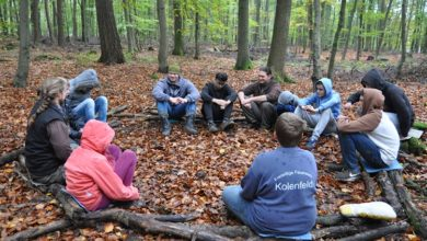 Otto-Hahn-Schule Lerncamp der Wildnisschule Wildniswissen