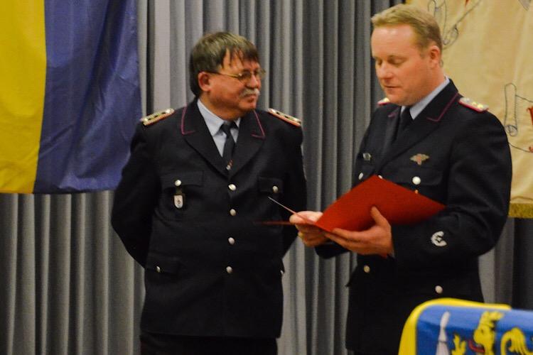 Jahresversammlung 2017 Feuerwehr Bild 2