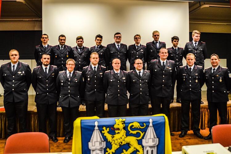 Jahresversammlung 2017 Feuerwehr Bild 3