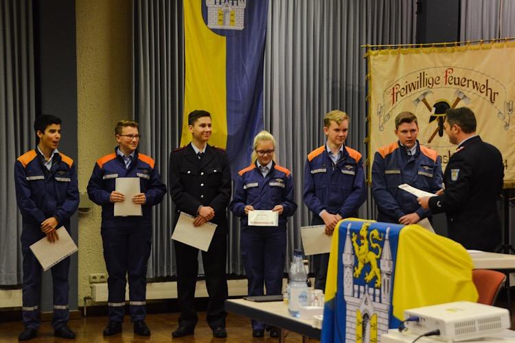 Jahresversammlung 2017 Feuerwehr Bild 5