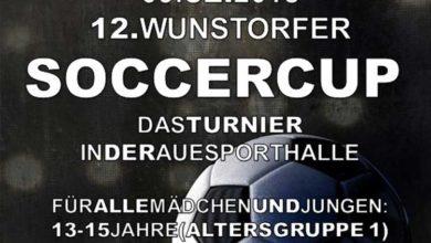 """Bild von 12. Wunstorfer """"SOCCERCUP"""" – Fußballturnier für Jugendliche"""