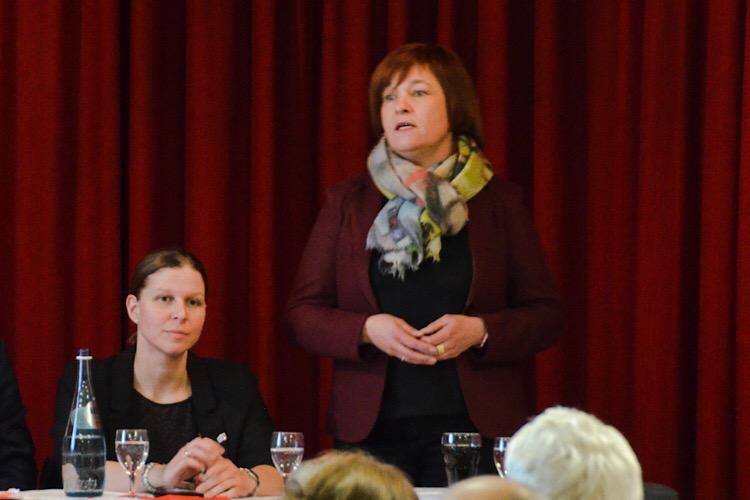 Caren Marks auf der Jahreshauptversammlung SPD 2018 _ 3