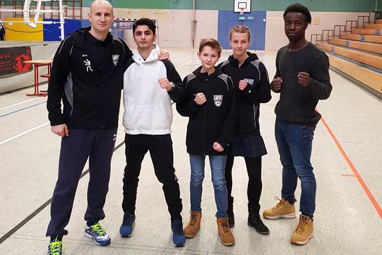 Erfolgreiche Boxer des TuS Wunstorf