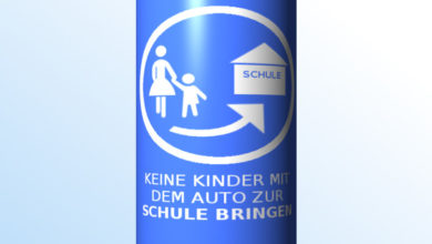 Bild von Noch mehr blaue Schilder für Wunstorf