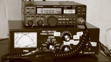 Bild von Katastrophenhilfe am Funkgerät