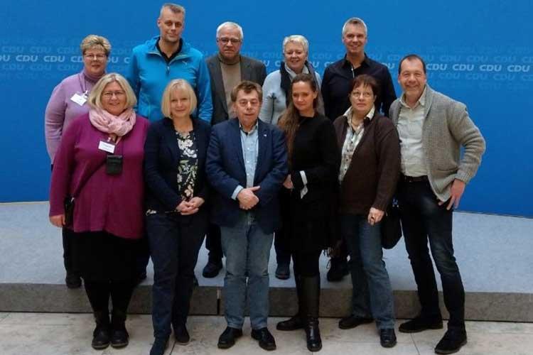 Fraktionsmitglieder zu Gast im Konrad-Adenauer-Haus in Berlin