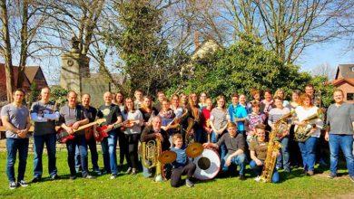 Bild von Musikzug Kolenfeld mit Frühjahrskonzert im Stadttheater