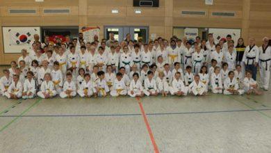 Bild von Lehrgang mit über 120 Kindern