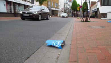 Bild von Vandalismus in der Langen Straße
