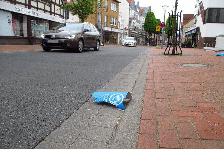 Photo of Vandalismus in der Langen Straße