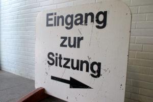 Sitzungschild