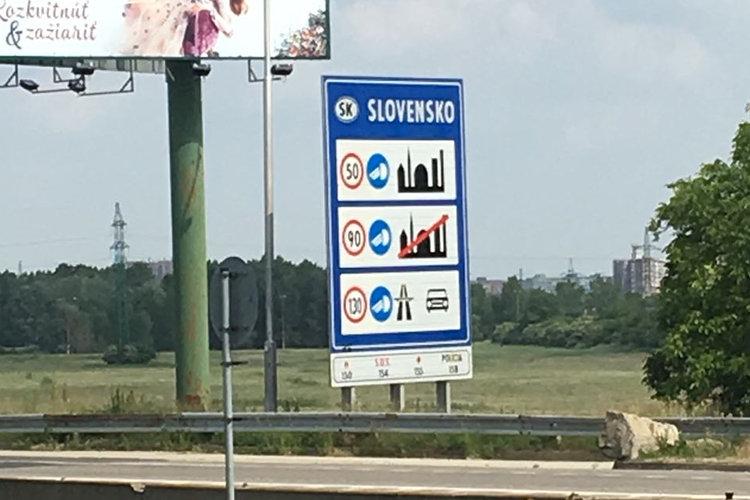 Die Slowakei ist erreicht