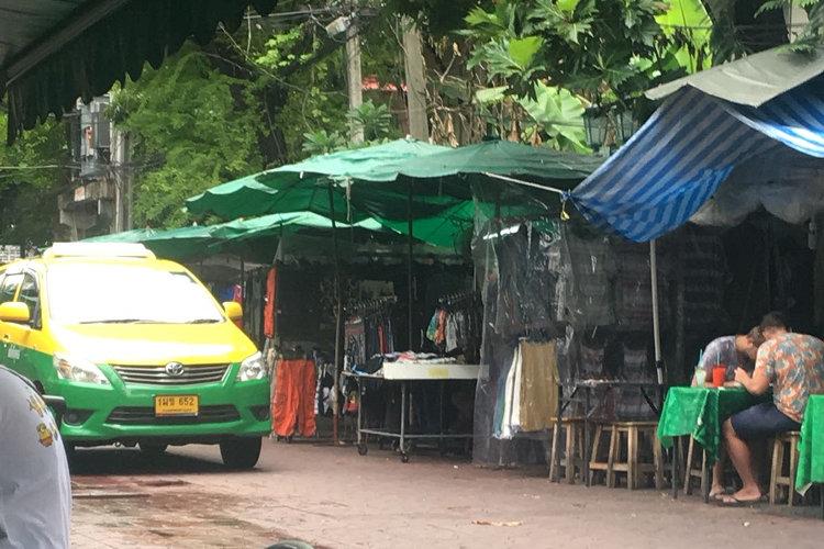 Nahversorgung und Mittagstisch auf Thailändisch
