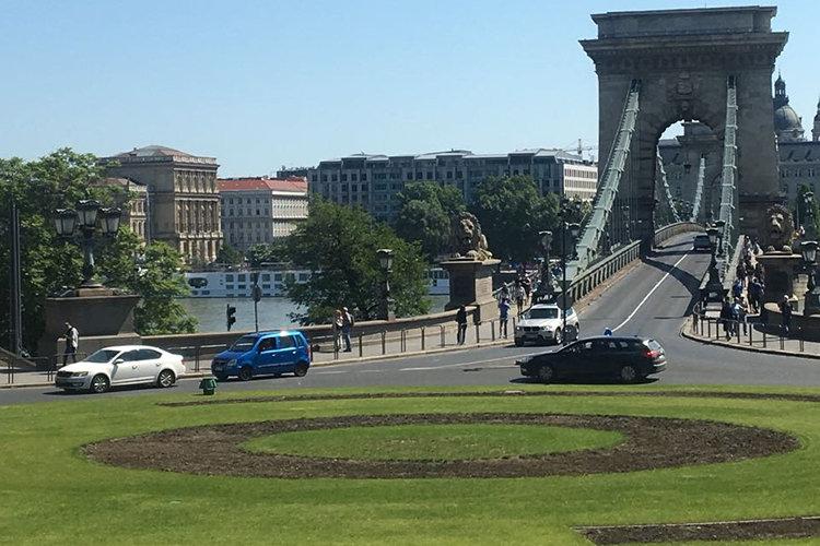 Donaubrücke in Budapest