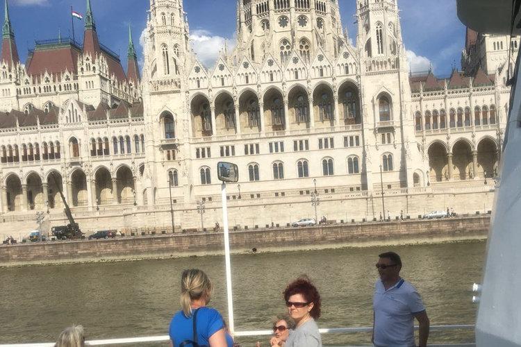 Donaudampfschifffahrt in Budapest