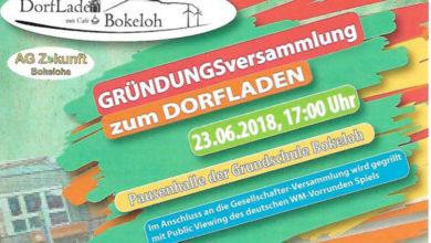 Bild von Gründung des Dorfladens Bokeloh