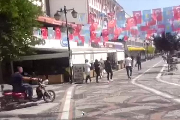 Einkaufsstraße in Edirne