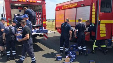 Bild von Wunstorfer Feuerwehren beim Bundeswehrtag im Großeinsatz
