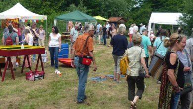 Bild von Hoffest in Winzlar mit ökologischem Markt