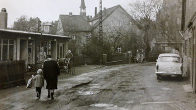 Bild von Schlaglöcher in der Küsterstraße