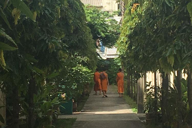 94 % der Thailänder sind Buddhisten