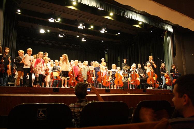 Tosender Applaus nach dem Konzert